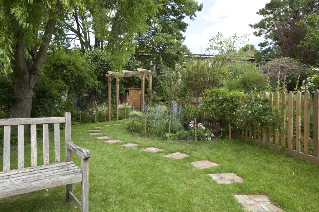 garden design long narrow plot long garden gray biji us - Garden Design Long Narrow Plot