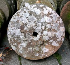 Millstone Water Feature 19th century millstone