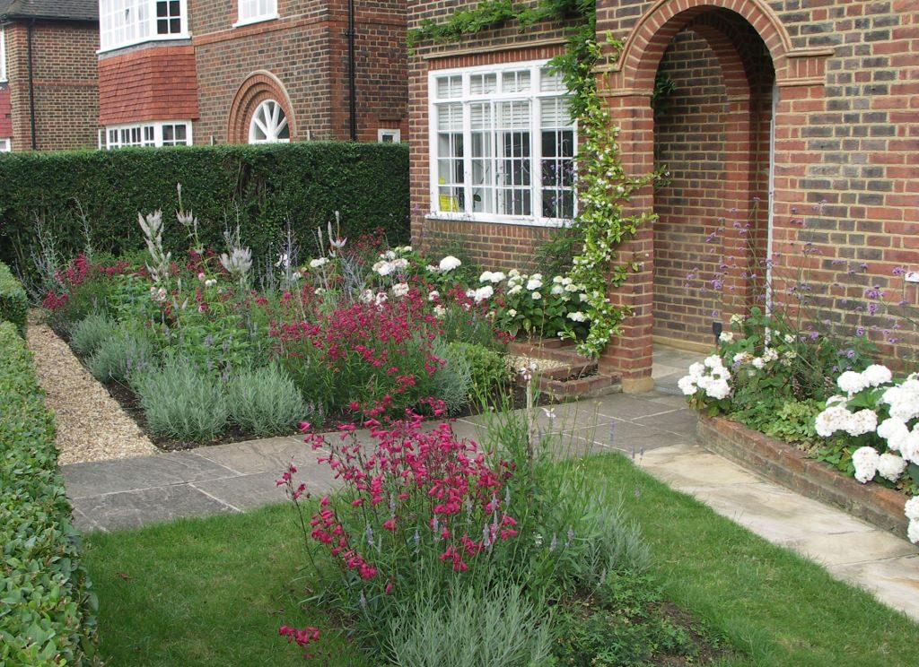 Garden design portfolio leaf and acre for Victorian front garden designs