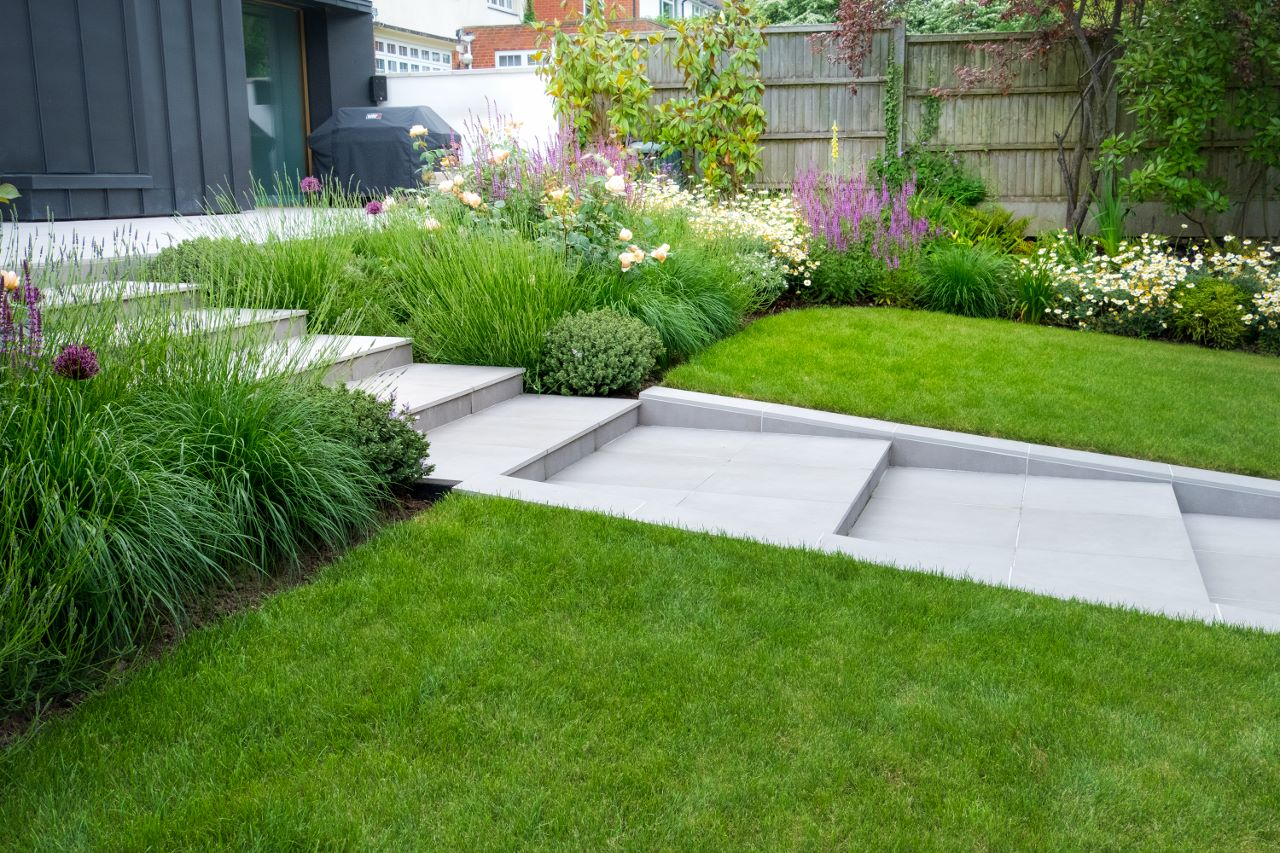 Landscape design in North London